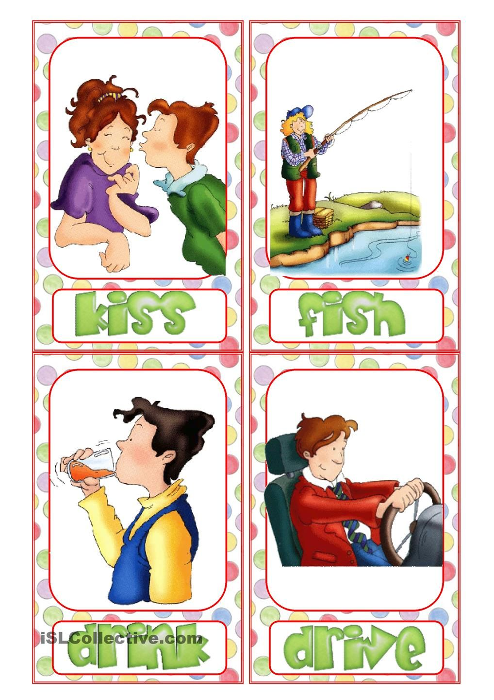 action verb flashcards pinteres action verb flashcards