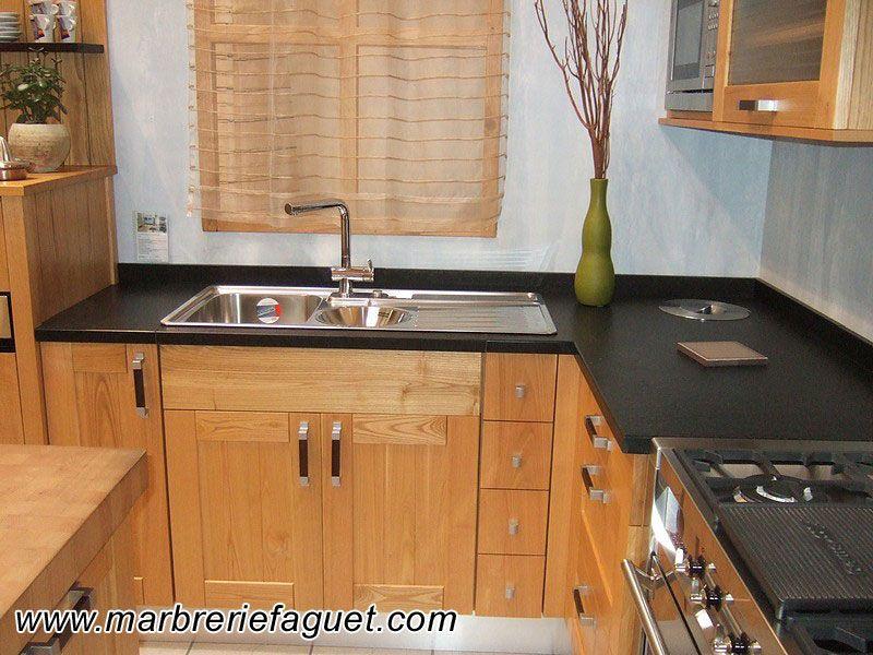 r sultat de recherche d 39 images pour cuisine bois plan de travail pierre cuisines pinterest. Black Bedroom Furniture Sets. Home Design Ideas