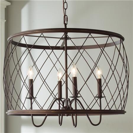 Trellis cage drum chandelier drum chandelier drums and chandeliers trellis cage drum chandelier aloadofball Images