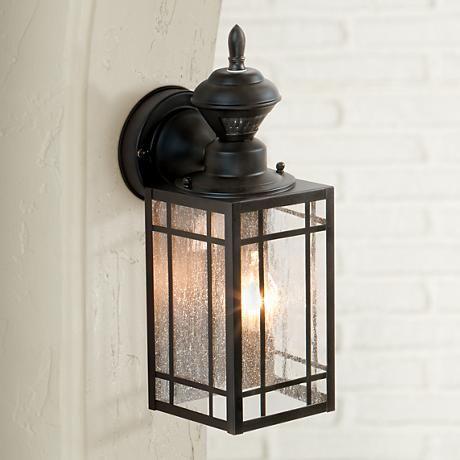 Point Grove 14 1 4 Dusk To Dawn Motion Sensor Outdoor Light H6910 Lamps Plus Outdoor Light Fixtures Outdoor Lighting Outdoor Wall Lighting Dusk to dawn wall lighting
