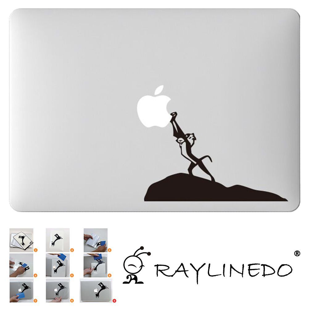 b9fa79e0967 Model Z134 1PCS Removable DIY Decal Stickers Decoration Sticker case for  Macbook Air Pro of 11
