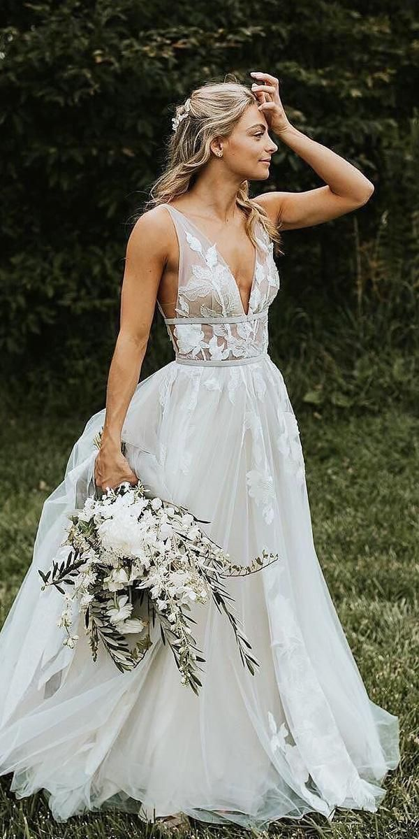 39 Boho Wedding Dresses Of Your Dream 6
