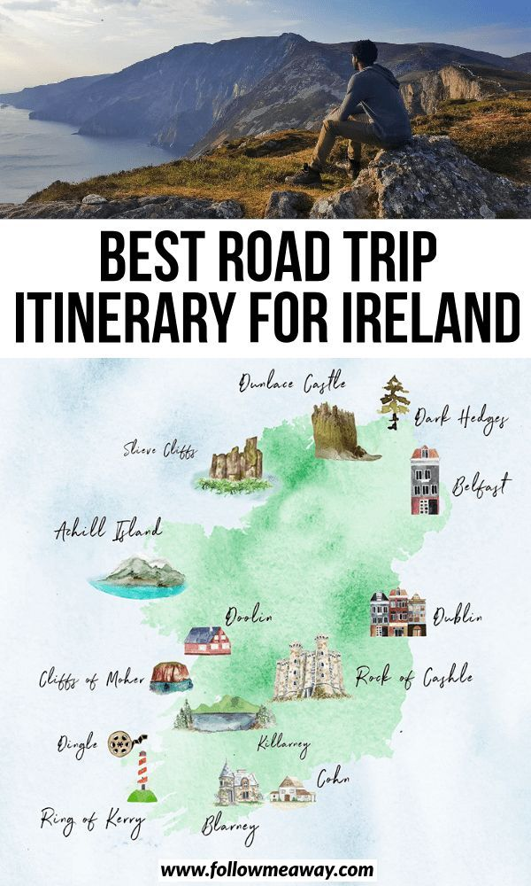 The Perfect Ireland Road Trip Itinerary You Should Steal - Follow Me Away