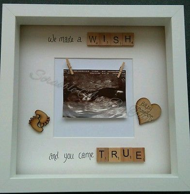 Image Result For Baby Scan Scrabble Frame Baby Scan Photos