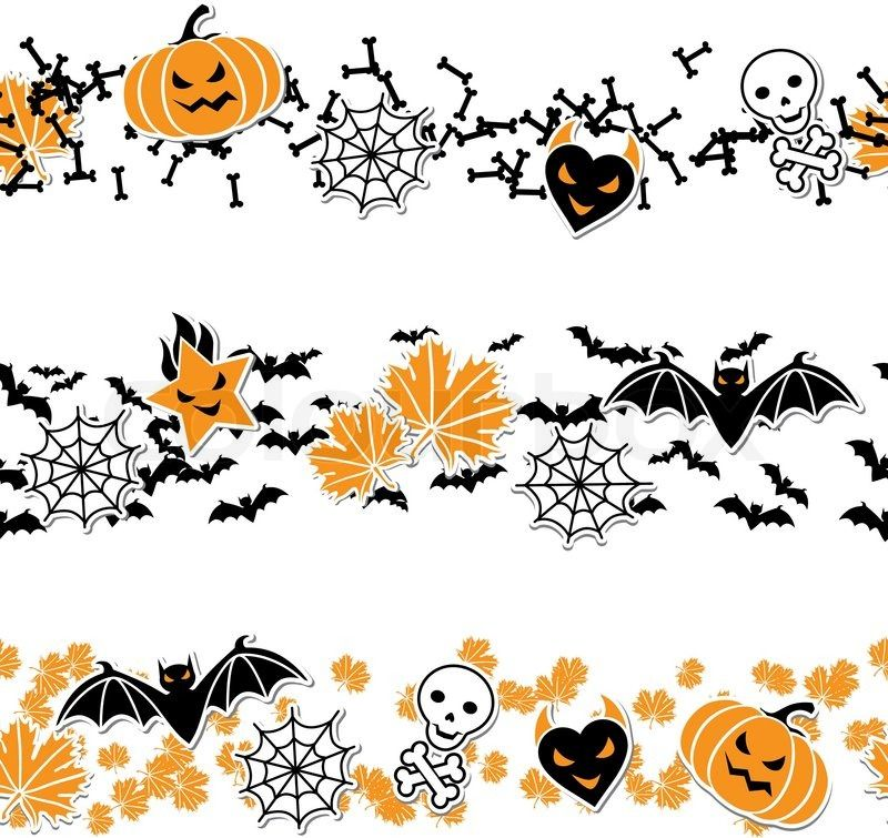 halloween borders and lines clip art Google Search