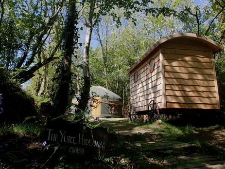 Glamping New Forest Whirlpool