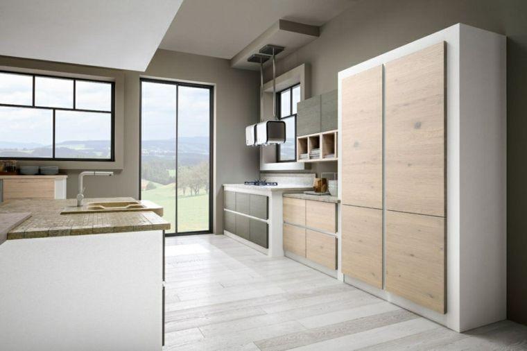 stile-per-cucine-in-muratura-moderne-struttura-bianca-esterno-in ...