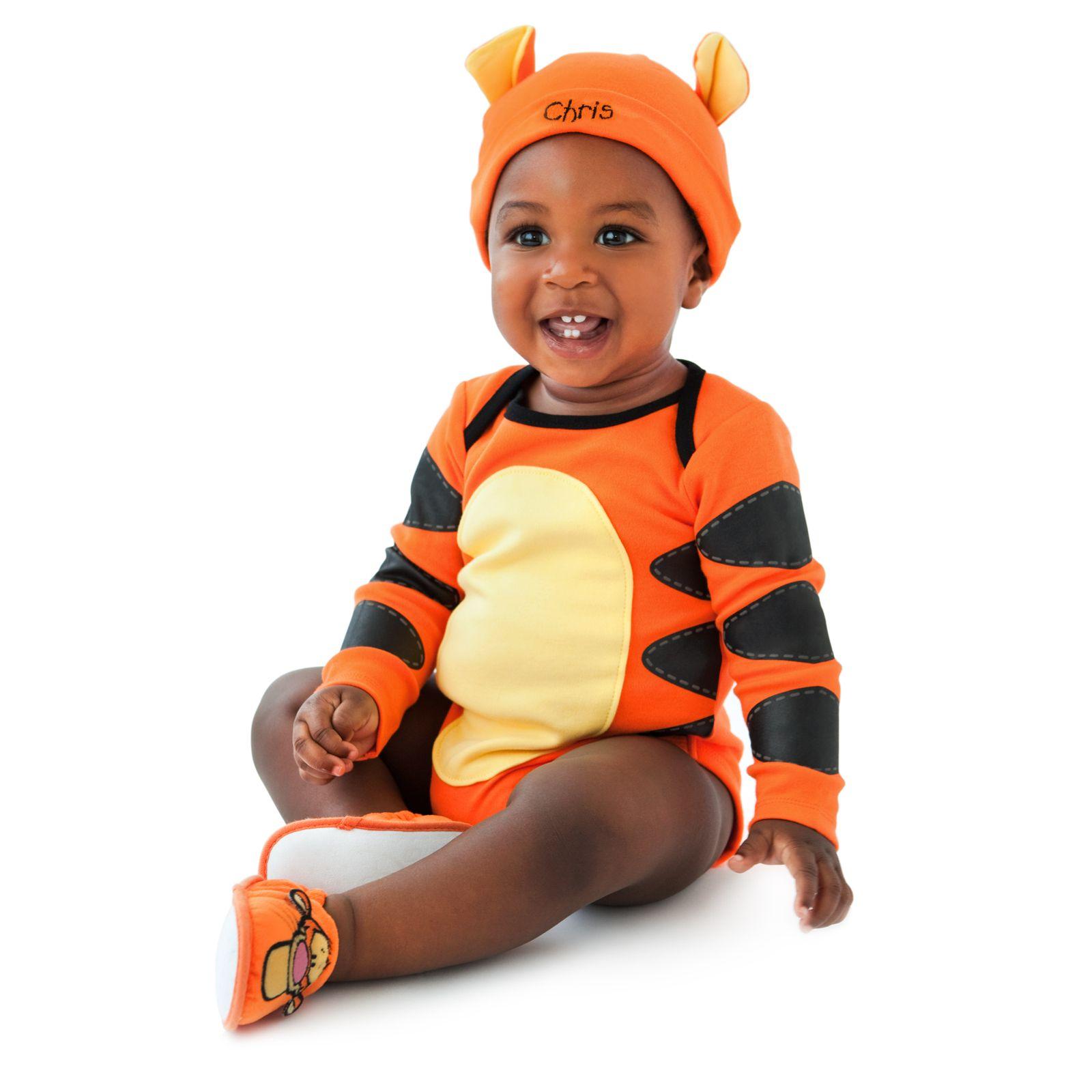 f9b691fd6 Tommy Baby In Tigger Costume Bodysuit & Cap Halloween