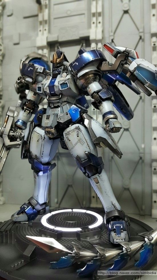 MG 1/100 Tallgeese III - Painted Build