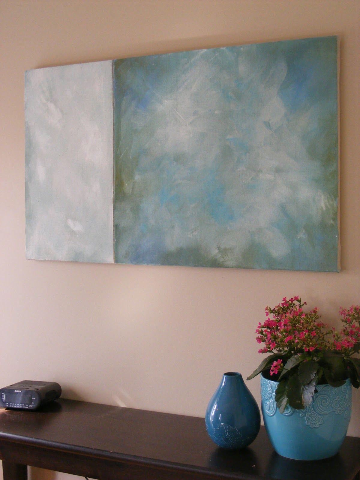 Simple, Thrifty DIY Art Diy artwork, Diy art, Diy wall art