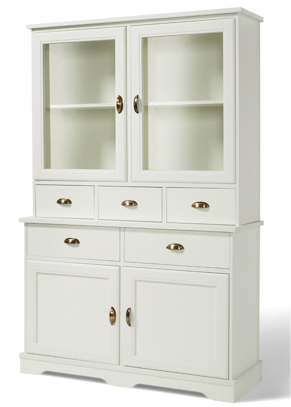 Dekorativ und praktisch: der Küchenschrank - weiß