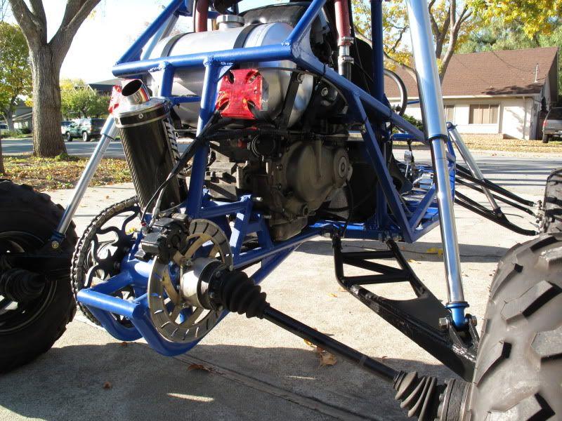 building a mini dune buggy