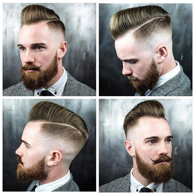 Strong Classic Pompadour Strong Mens Hairstyles Hair Loss Men Stylish Mens Haircuts