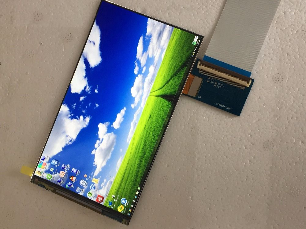 5 5 inch 1440p hdmi screen display 1440*2560 with hdmi to