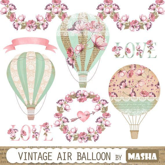 Hot Air Balloon Clip Art at Clker.com - vector clip art online, royalty  free & public domain