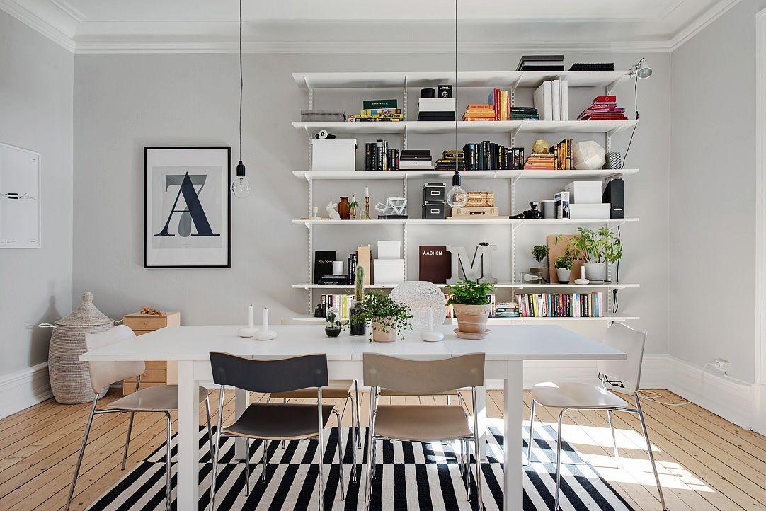 Ett rum för stora middagssällskap