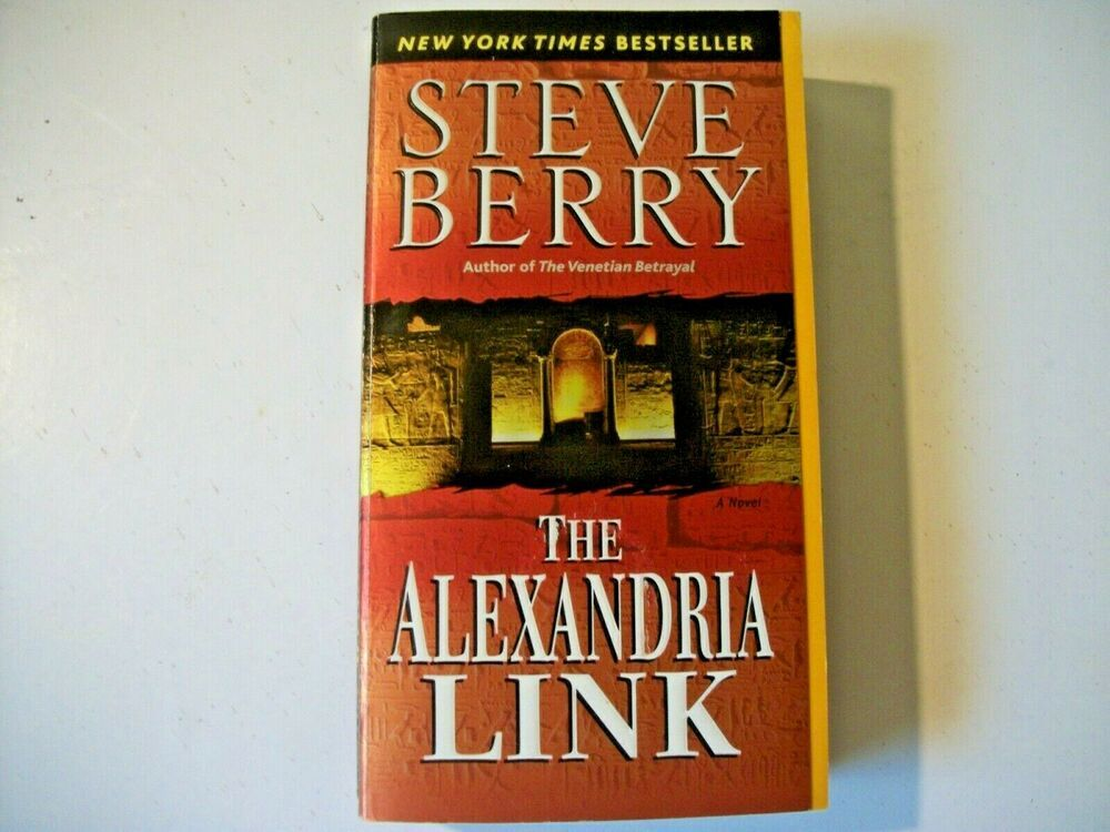 Cotton Malone Ser The Alexandria Link By Steve Berry 2007 Paperback 9780345485762 Ebay Steve Berry Paperbacks Steve
