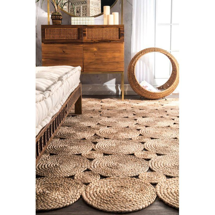 Caroline Hand-Woven Natural Area Rug