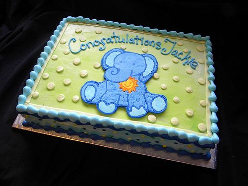 Elephant Themed Baby Shower Sheet Cakes Google Search