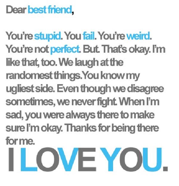 Sweet Best Friend Quotes Dear Best Friend Visit .LovableQuotes.to see more sweet  Sweet Best Friend Quotes