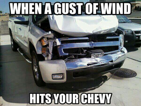 Piece A Shit Fords Chevy Jokes Chevy Memes Ford Jokes
