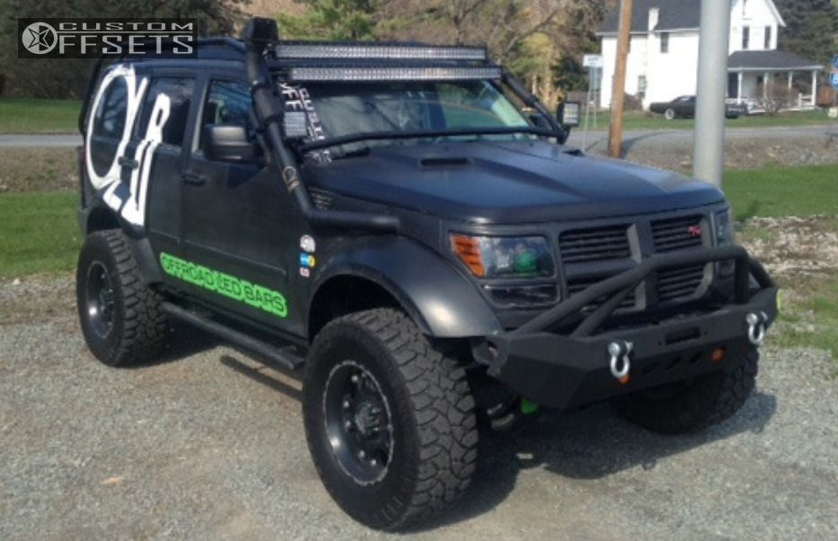 1 2011 Nitro Dodge Suspension Lift 4 Ballistic Hostel Black Slightly Aggressive In 2020 Dodge Nitro Dodge Nitro
