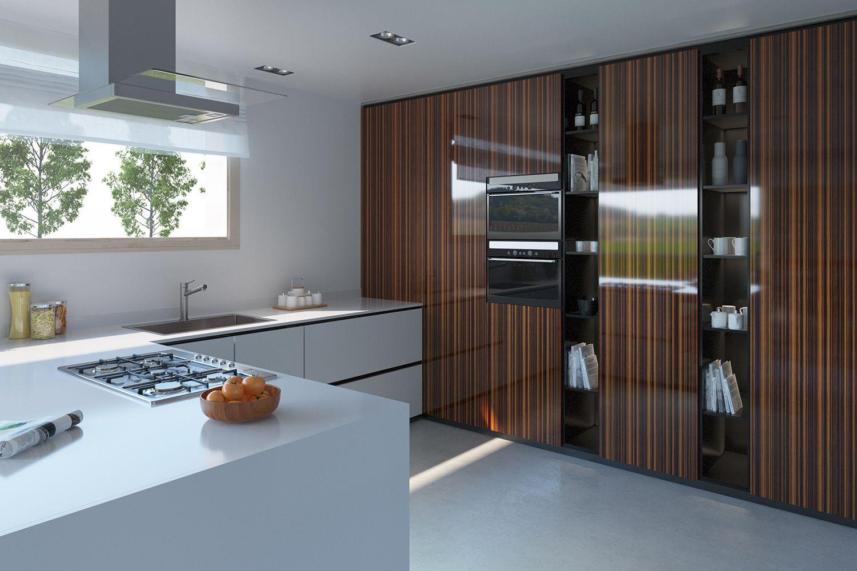Cucina Open Space Moderna un design che viene incontro alle esigenze dei padroni di
