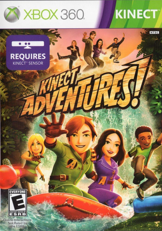 Kinect Adventures! Xbox 360 Front Cover Juegos para xbox