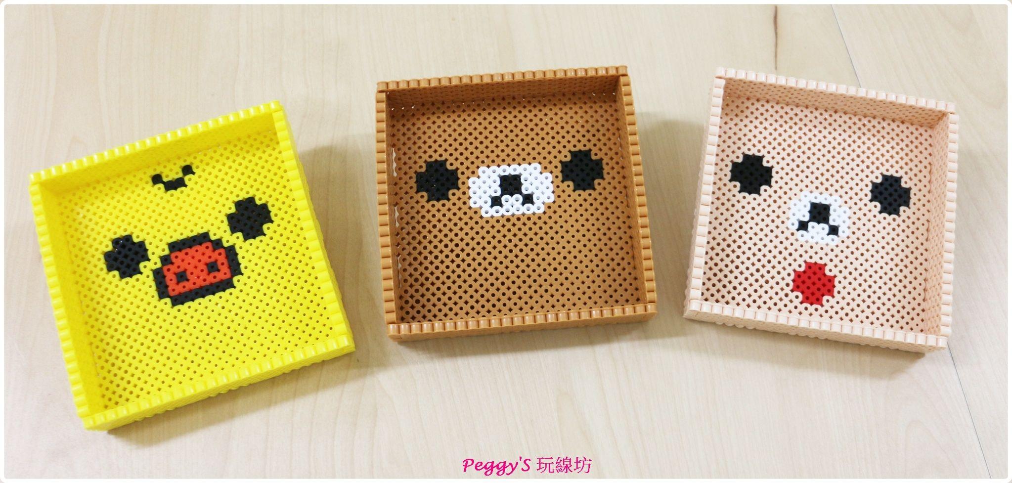 Peeler bead 3D box | Diy perler beads, Perler bead art, Perler beads designsPinterest
