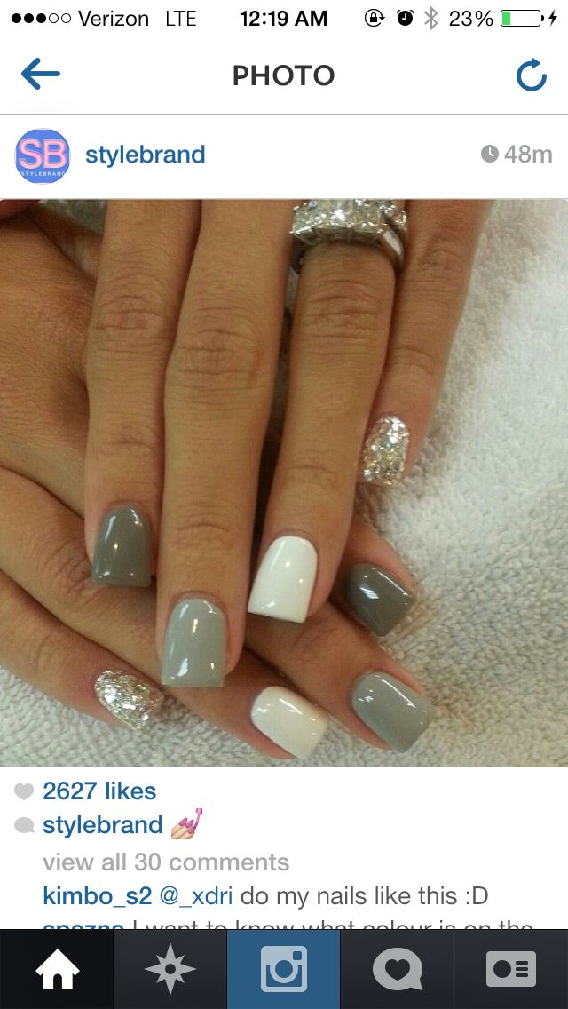 Have these now. Shellac nails | GIRLY THINGS | Pinterest