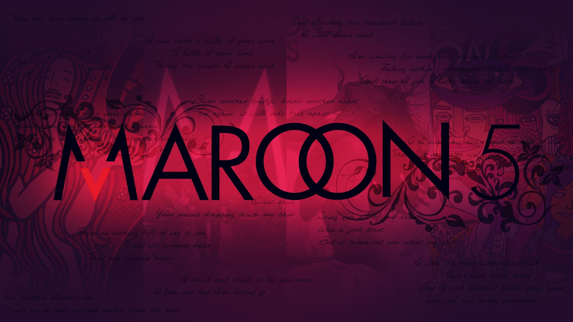 Logos Awesome And Maroon 5 On Pinterest Maroon 5 Maroon 5 Lyrics Maroon