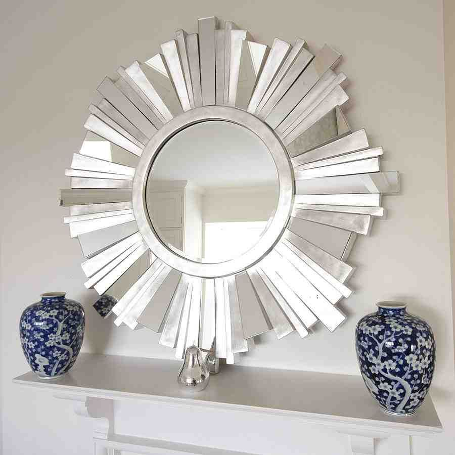 Large Starburst Mirror Mirror Wall Bedroom Sunburst Mirror Contemporary Mirror