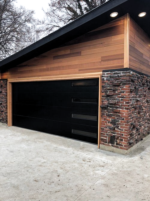 Pin By Greg Wells On Garage Ideas In 2020 Modern Garage Doors Garage Door Design Industrial Garage Door