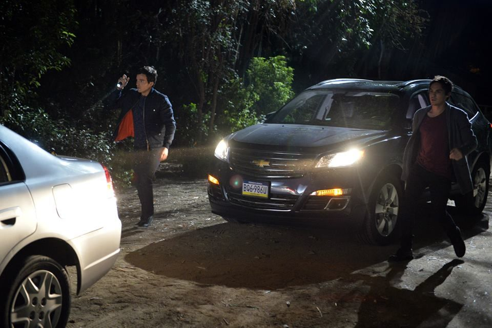 Who's in the car!? Don't forget to tune-in on Tuesday to the ALL NEW PLL to find out what's going on!