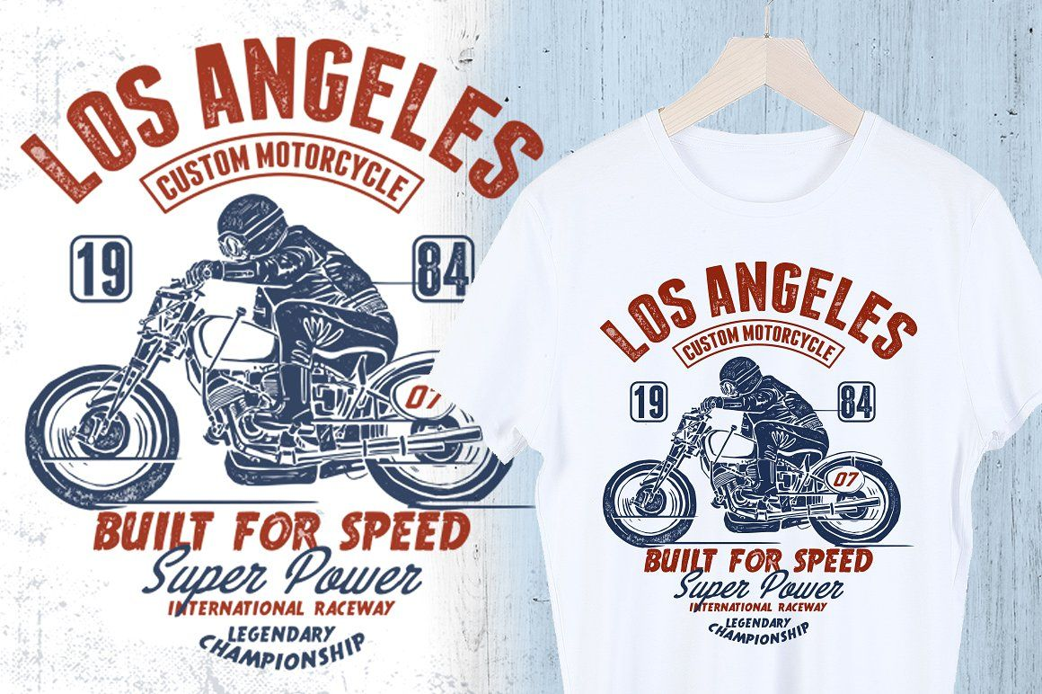 Motorcycle Design For T Shirt Shirt Illustration Tshirt Designs Motorcycle Design