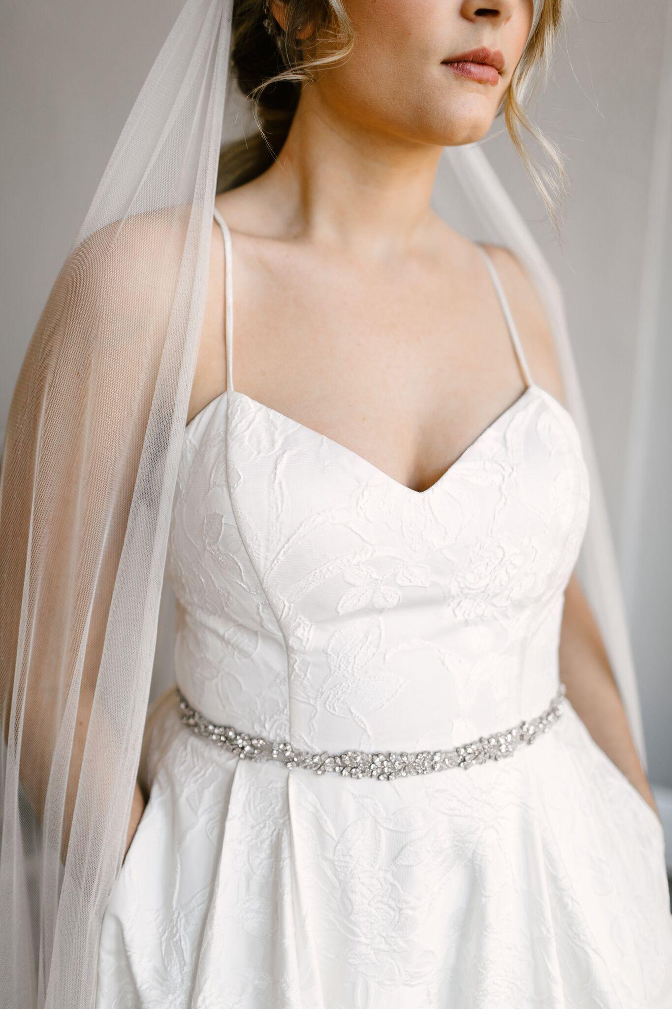Bess Sash Untamed Petals Wedding Accessories Wedding Dress