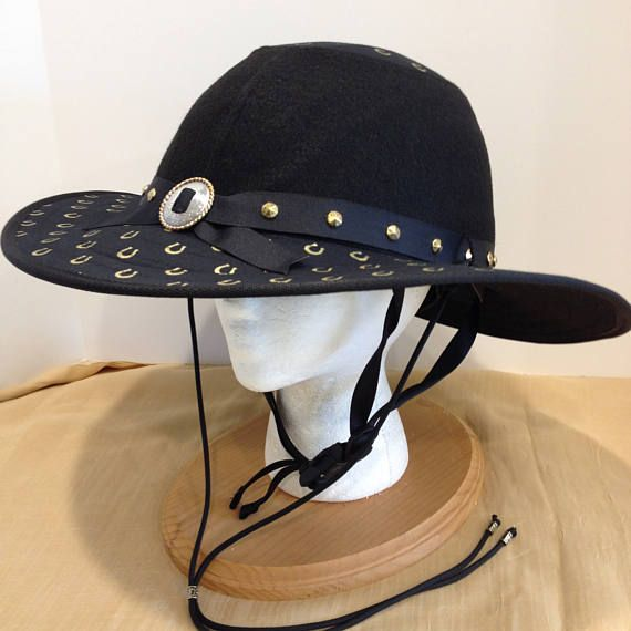 Equestrian Helmet Cover Hat Western Collection  36ffa2c2a650