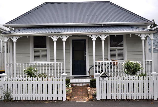Laura Thomas Interior Design Blog The New Zealand Villa Weatherboard ExteriorGrey HousesInterior