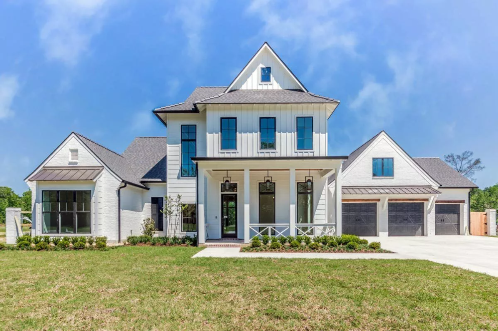 Two Story 5 Bedroom Southern Home with Rustic Interior Elements Floor Plan