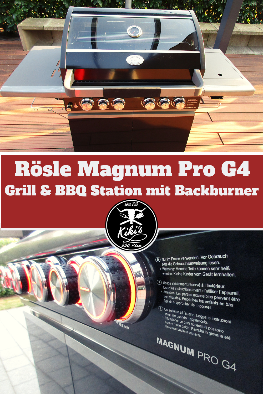Testbericht Zum Rosle Magnum Pro G4 Gasgrill In 2020 Gasgrill Grillen Bbq