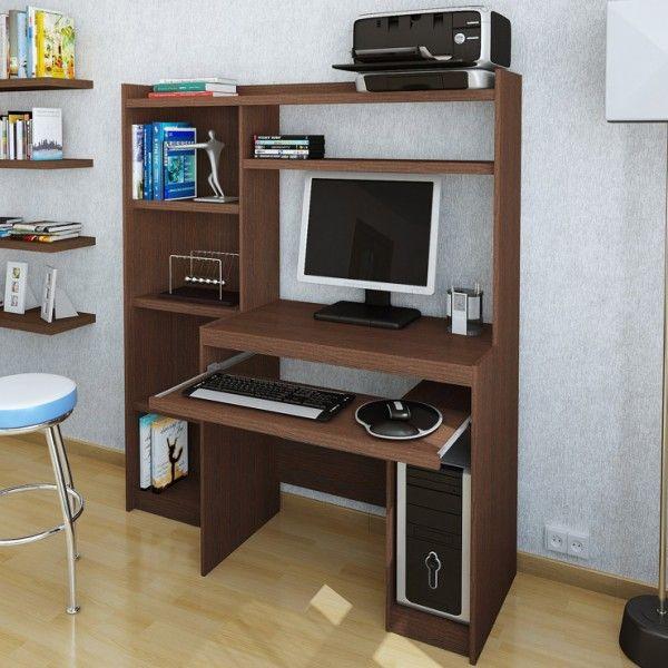 11813 escritorio mesa para pc alzada biblioteca 600 600 tab1 pinterest - Muebles para escritorio ...