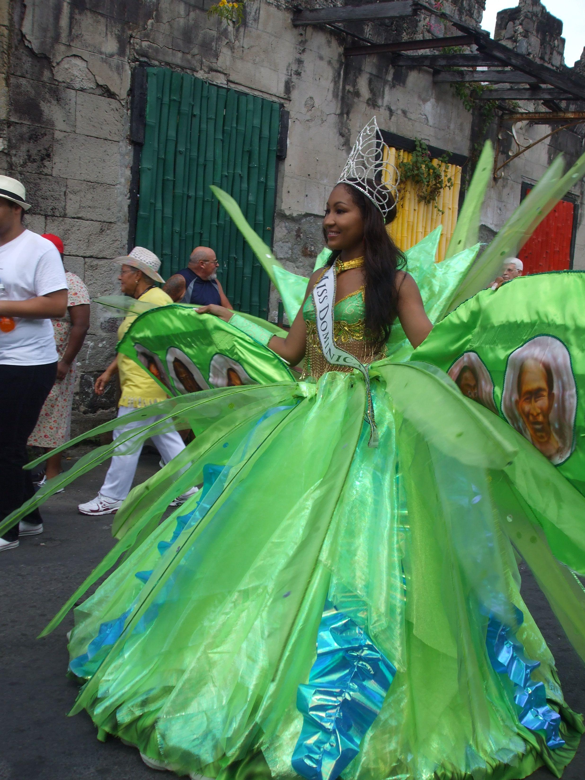 carnival queen nadira lando is miss dominica 2012