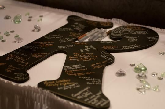 Guest Book Alternative Large Wedding Letter By Route 17 West