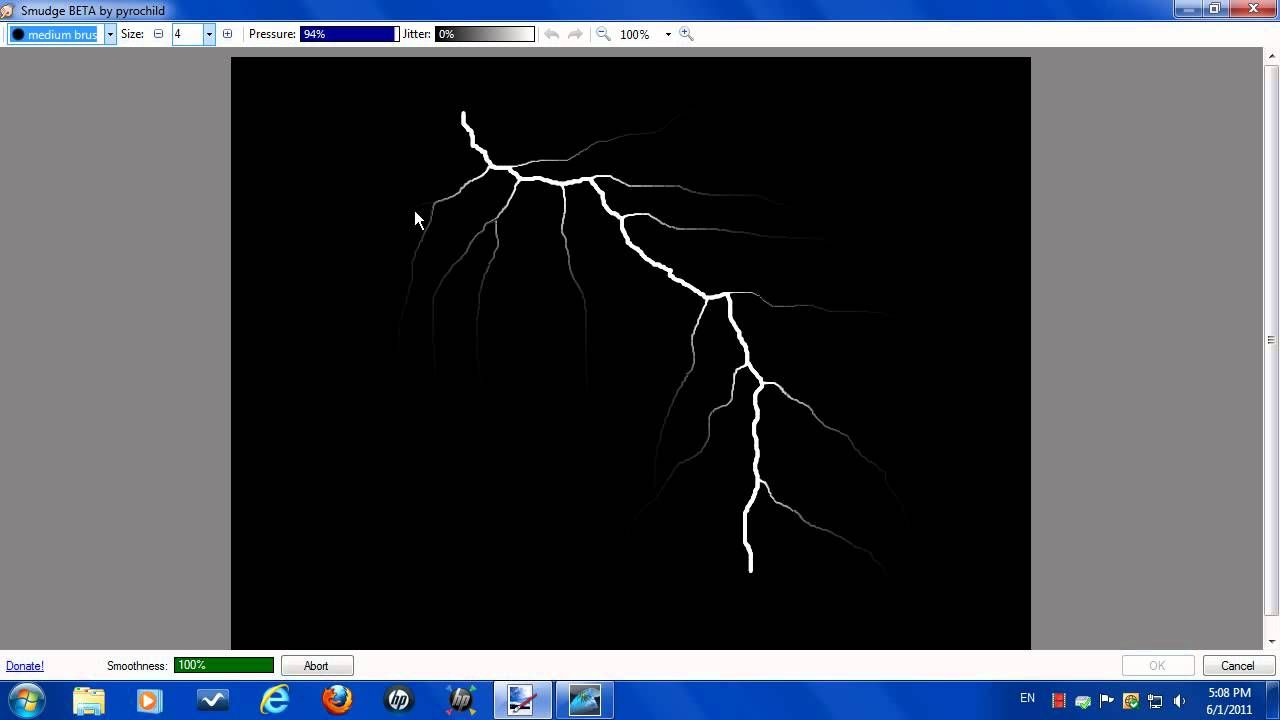 Paint lightning bolt paint tutorials plug ins how to draw up a lightning bolt in paint you need the smudge plugin to complete this tutorial baditri Image collections