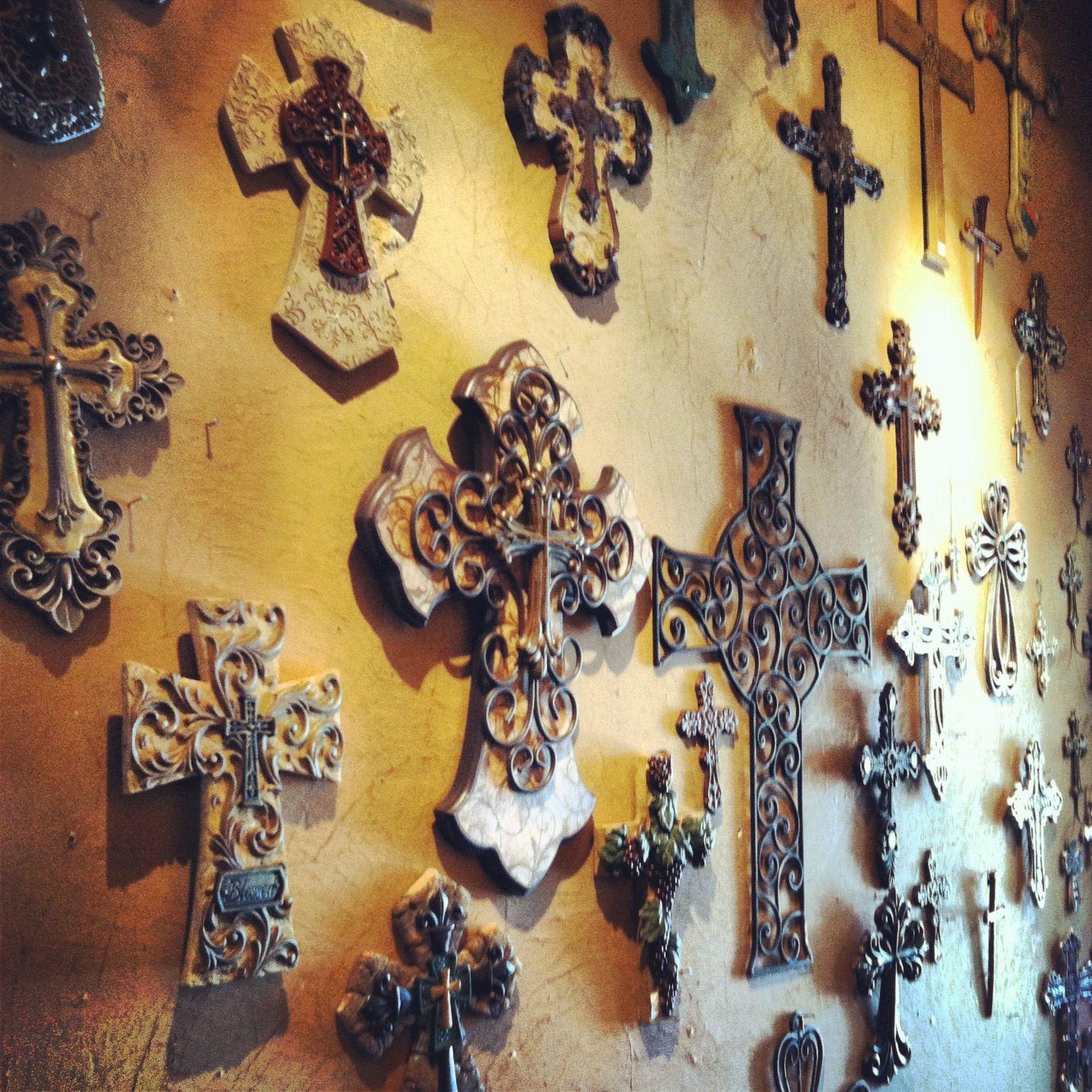Wall of crosses | Crosses & crucifixes | Pinterest | Walls, Wall ...