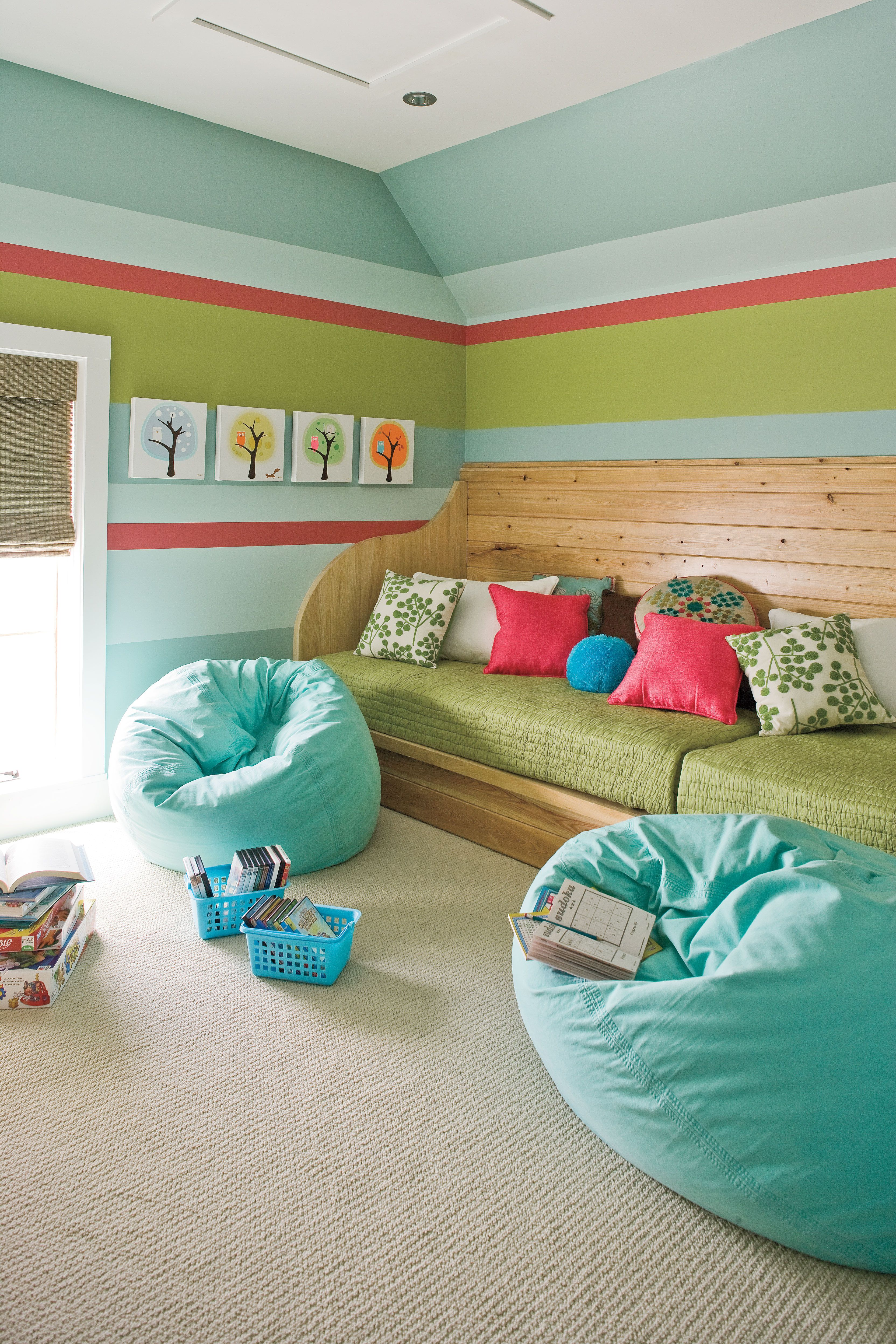 Creative Kids Room Ideas: Style Guide: Creative Kids' Rooms And Nurseries (With