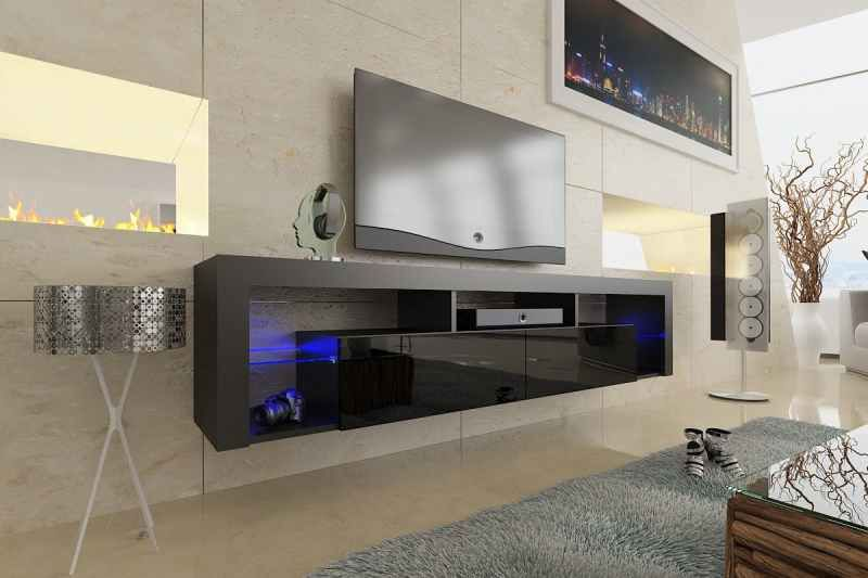 Modern Floating Tv Units Vurni Floating Tv Stand Tv Stand