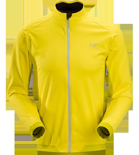 ARCTERYX Trino Jersey LS Men's Anspruchsvolle Jacke, die zur besseren Atmungsaktivität WINDSTOPPER®-Material mit elastischem Altasaris™-Gewebe kombiniert. Ideal für schweißtreibende Aktivitäten an kalten Tagen, beispielsweise zum winterlichen Joggen oder Langlaufen.