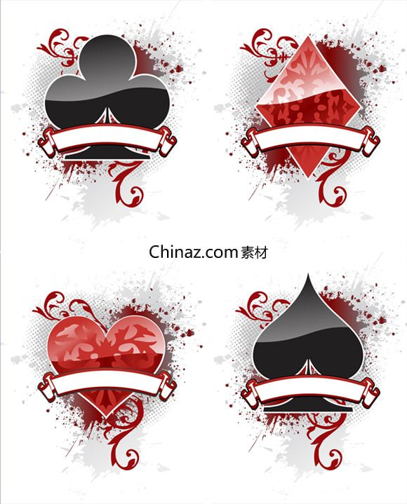 Playing Card Suit Vector Graphics Download Card Tattoo Designs Playing Cards Design Card Tattoo