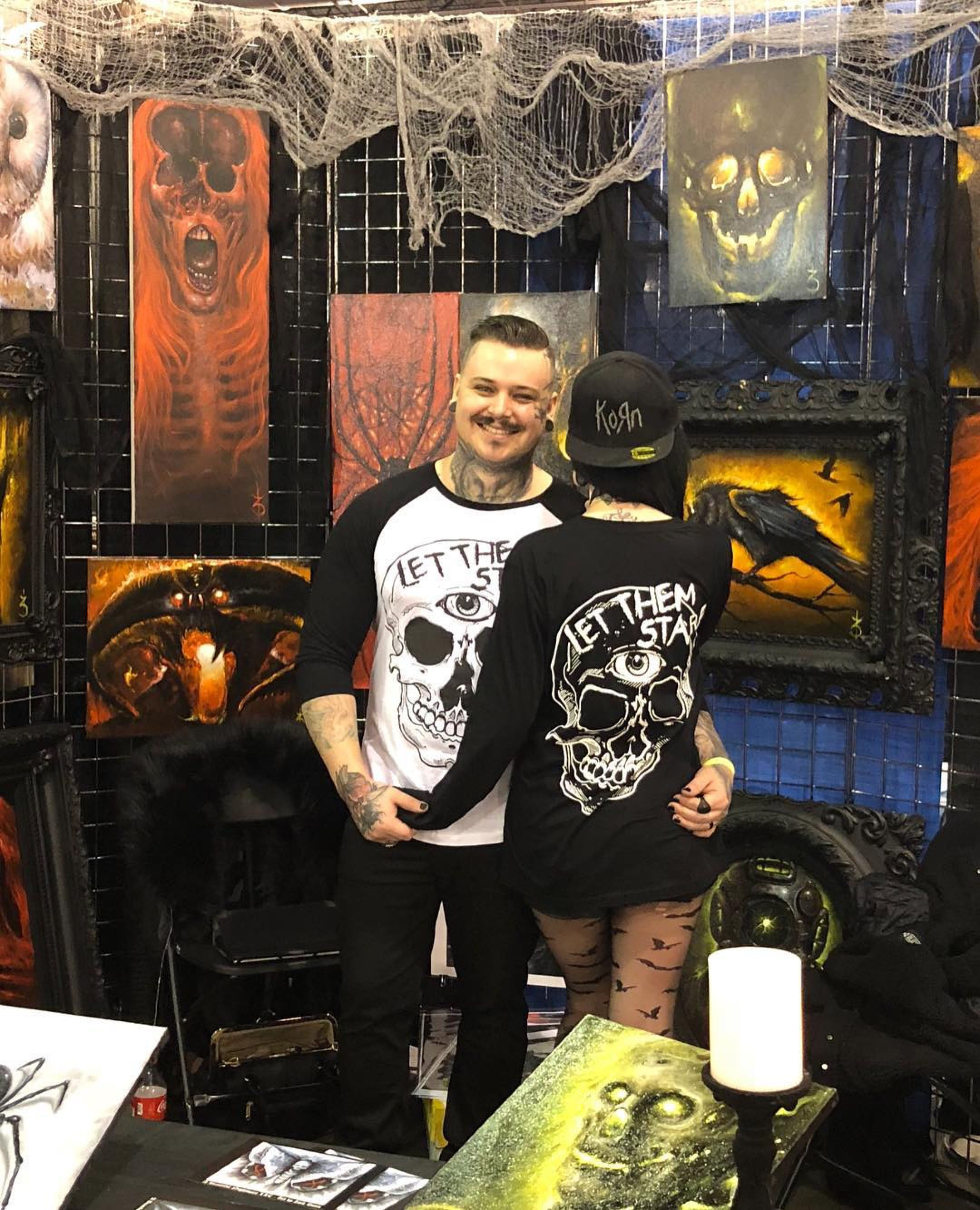 Here we have artist zack cookie at philly con in let